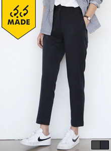 66GIRLSTapered Double Button Trousers