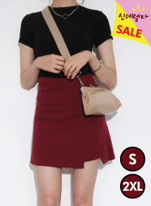 66GIRLSA-Line Fabric Insert Skirt