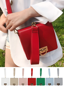 66GIRLSCompact Boxy Crossbody Bag