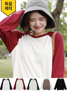 66GIRLSRelaxed Fit Raglan T-Shirt