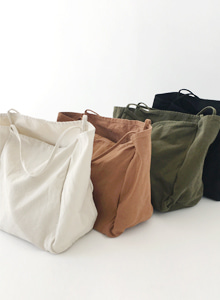 66GIRLSSolid-Tone Open Top Tote Bag